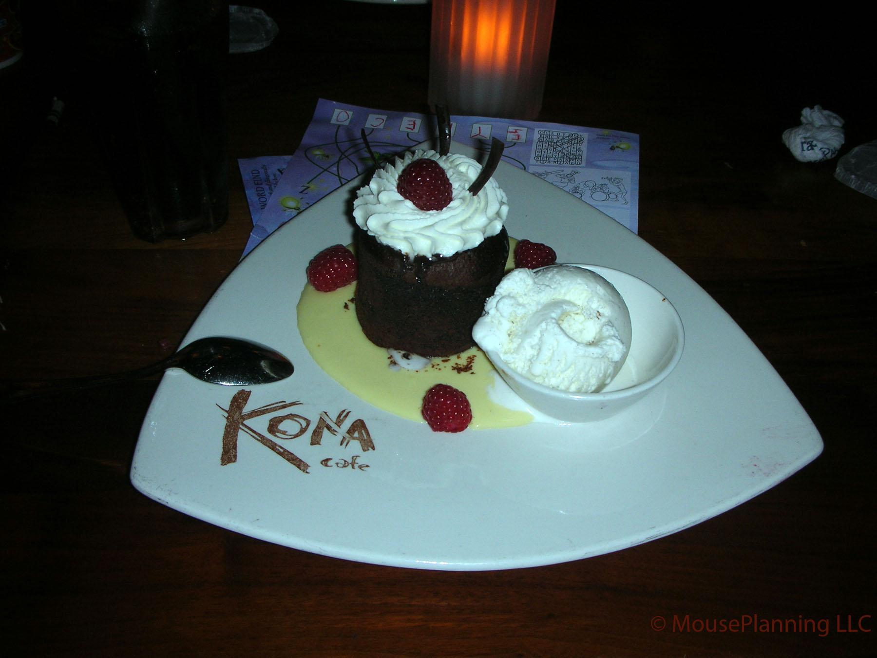 Kona Cafe Dessert - Chocolate Torte