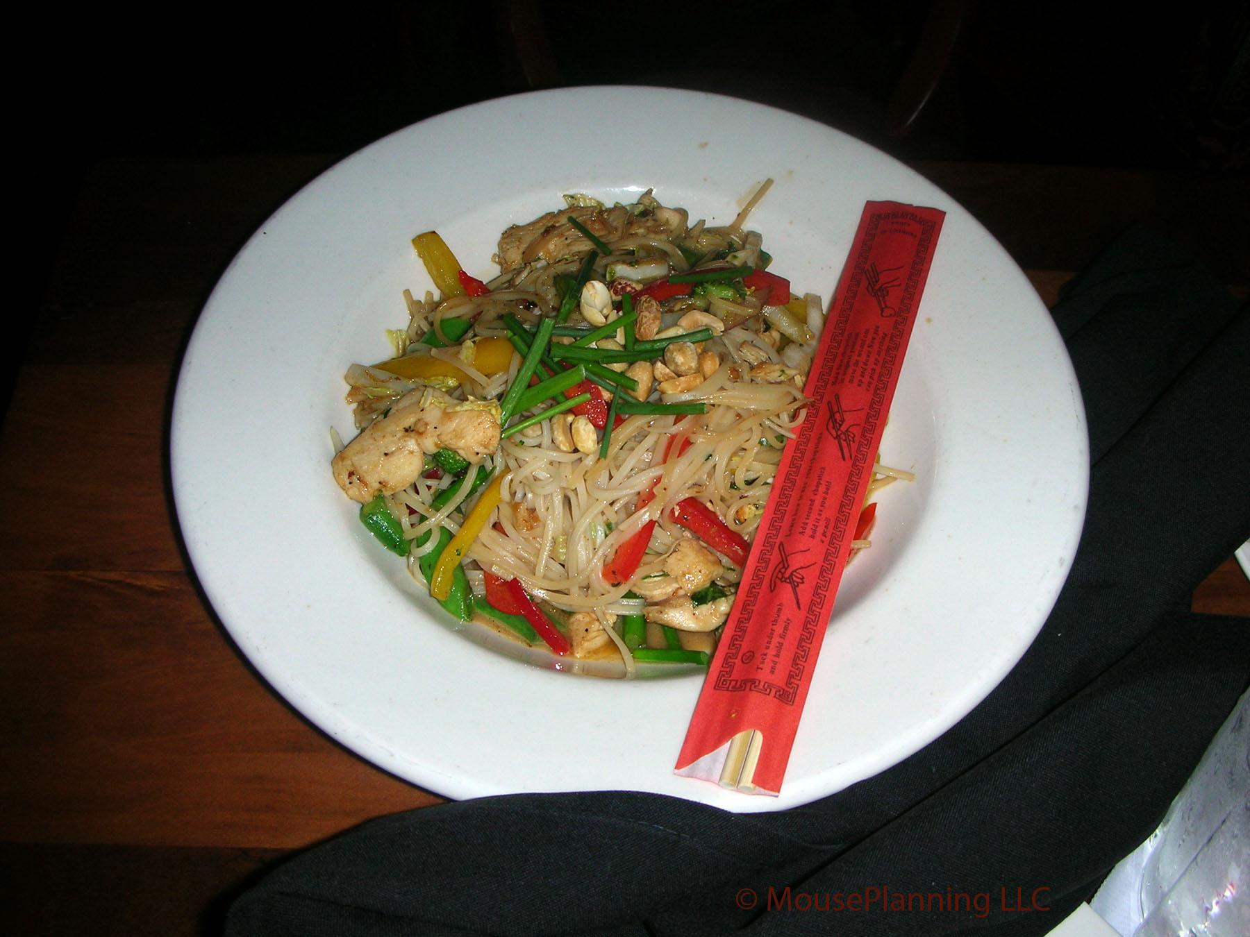 Kona Cafe Dinner - Pan-Asian Noodles