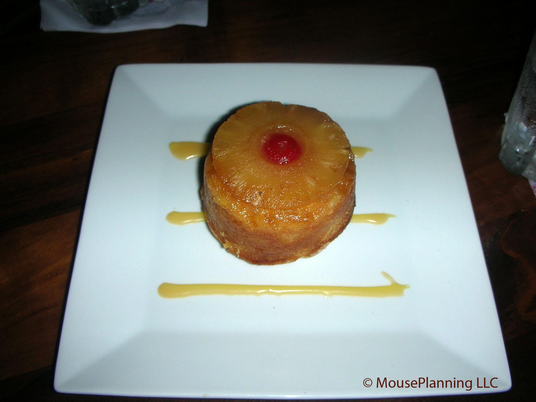Kona Cafe Dessert - Pineapple Upside Down Cake