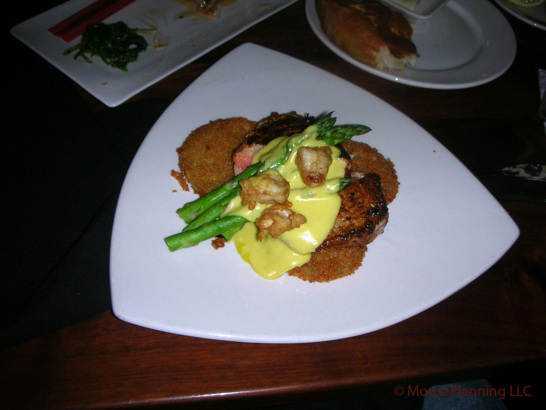 Kona Cafe Dinner - Tuna Oscar