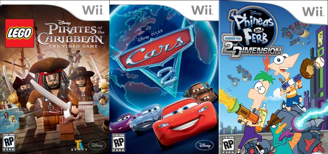Lego PotC, Cars 2, P&F