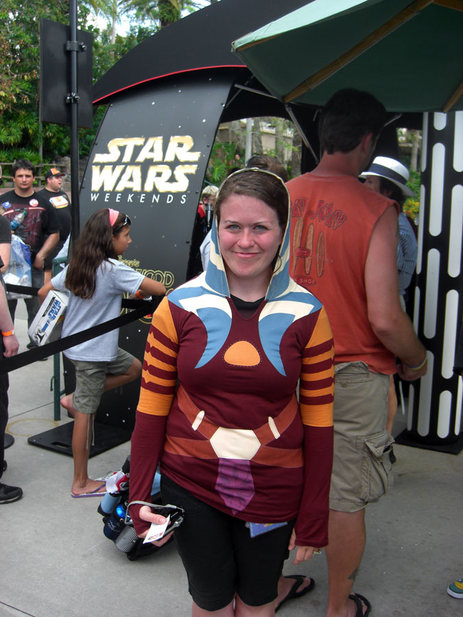 Star Wars Weekends Ahsoka Tano Fan