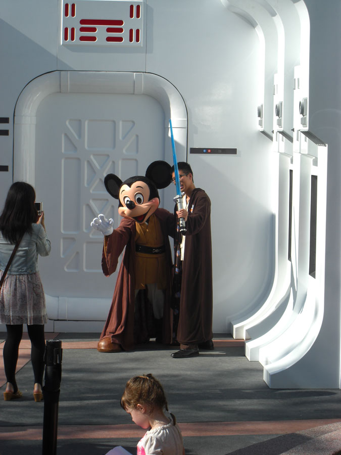 Star Wars Weekends Jedi Mickey Mouse