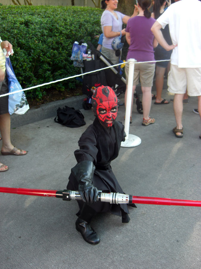 Star Wars Weekends Darth Maul