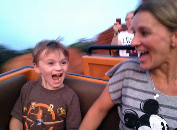 The Jersey Momma's boy rides Big Thunder Mountain Railroad