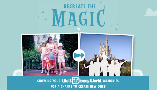 Disney's Recreate the Magic Contest