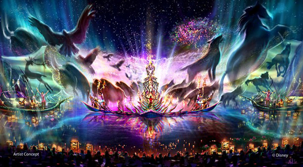 Rivers of Light Concept Painting