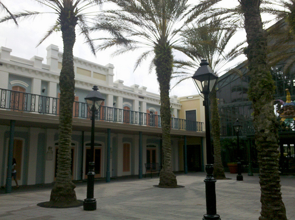 Exterior of rooms at Disney's Port Orleans French Quarter
