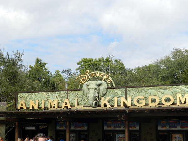 The entrance to Disney's Animal Kingdom